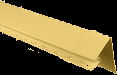 """Планка """"околооконная"""", 3м, цвет Жёлтый"""