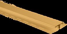 """Планка """"соединительная"""", 3м, цвет Золотистый"""