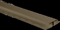 """Планка """"соединительная"""", 3м, цвет Тёмный орех"""