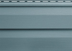 Панель виниловая Альта-Сайдинг серо-голубая, 1,83м