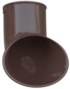 Слив трубы ПВХ Элит (цвет коричневый)